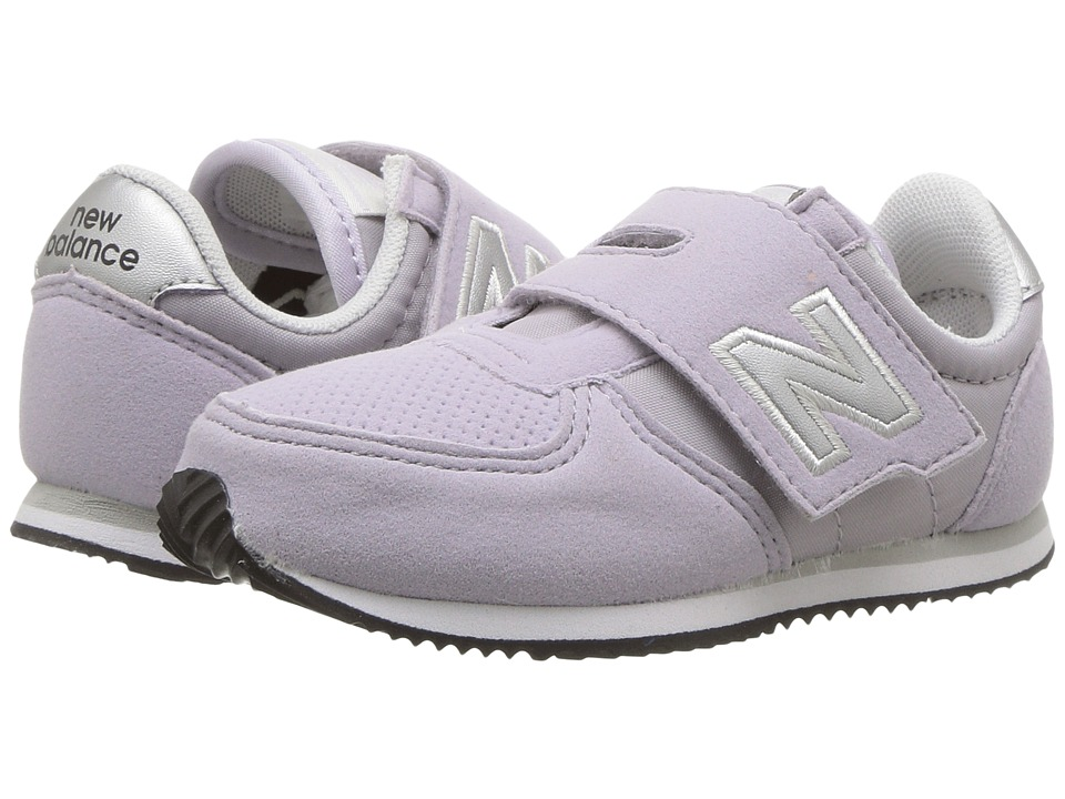 New Balance Kids KV220v1I (Infant/Toddler) (Purple/Silver) Girls Shoes