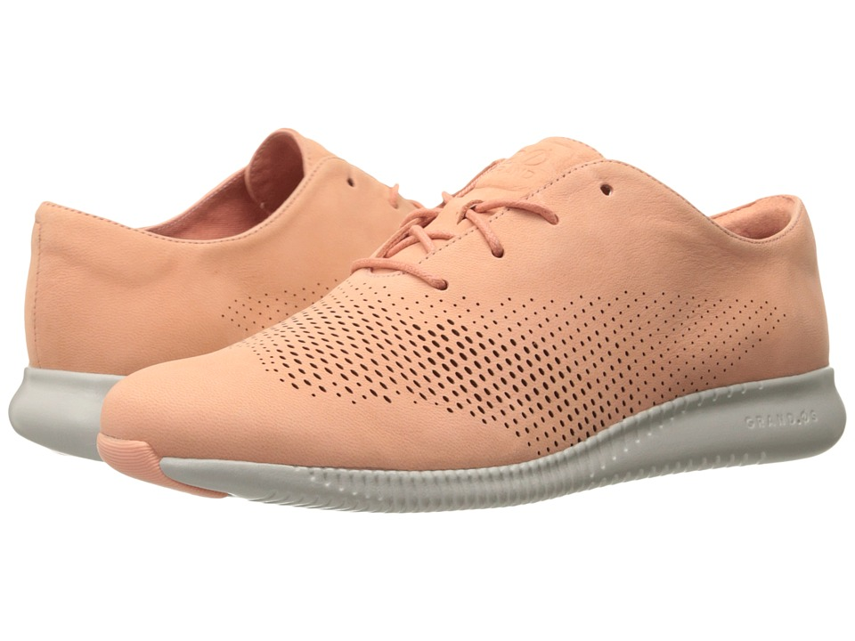 Cole Haan - 2.0 Grand Laser Wing Oxford (Nectar Nubuck/Vapor Grey) Women's Lace up casual Shoes