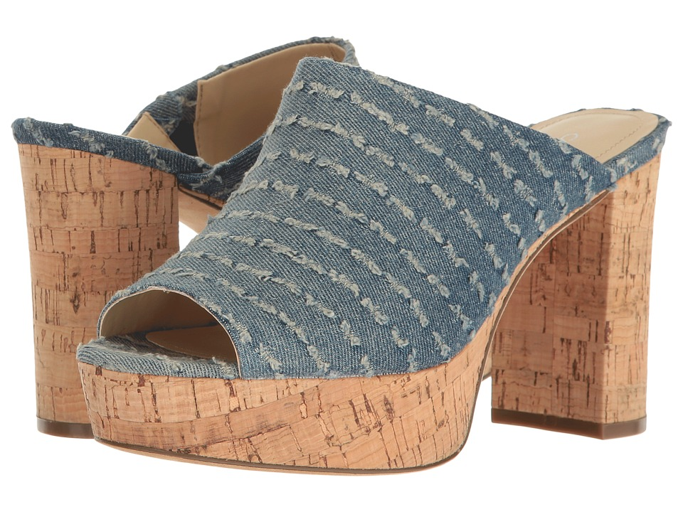 Charles by Charles David - Miley (Navy Ripped Denim) Women's Clog/Mule Shoes