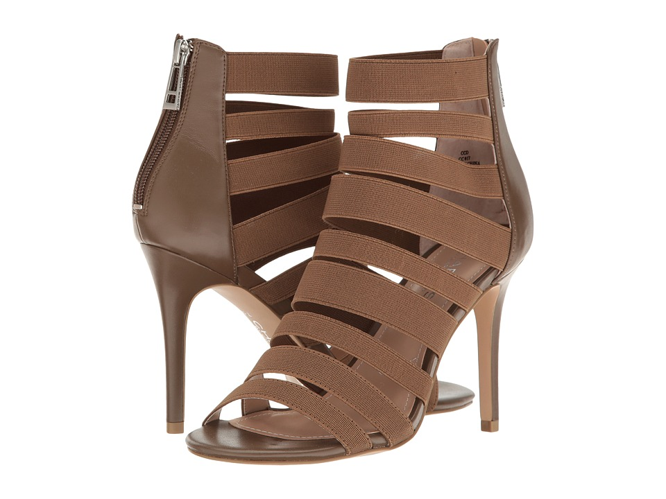Charles by Charles David - Rider (Taupe Elastic) Women's 1-2 inch heel Shoes
