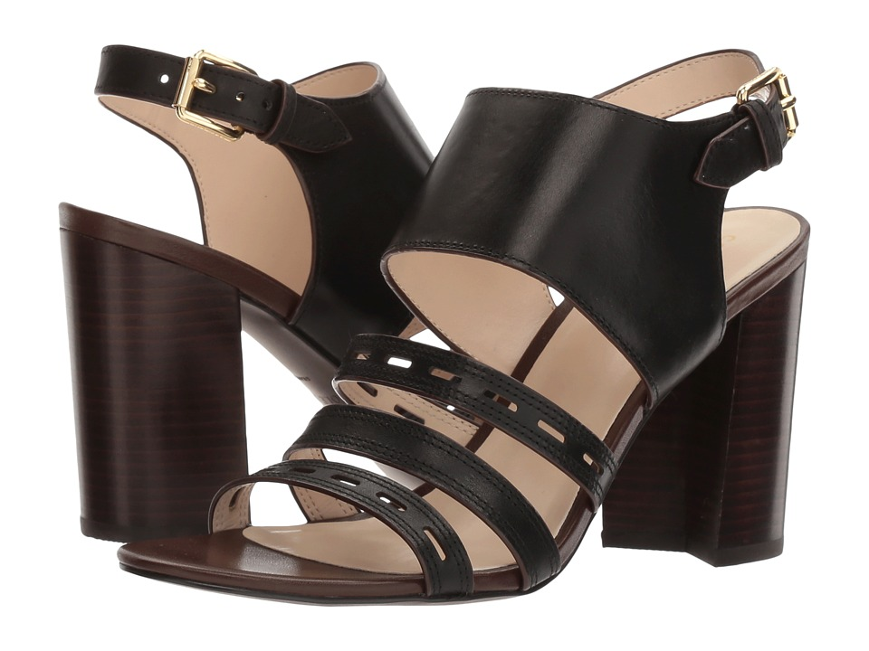 Cole Haan - Lavelle High Sandal (Black Leather) Women's Sandals