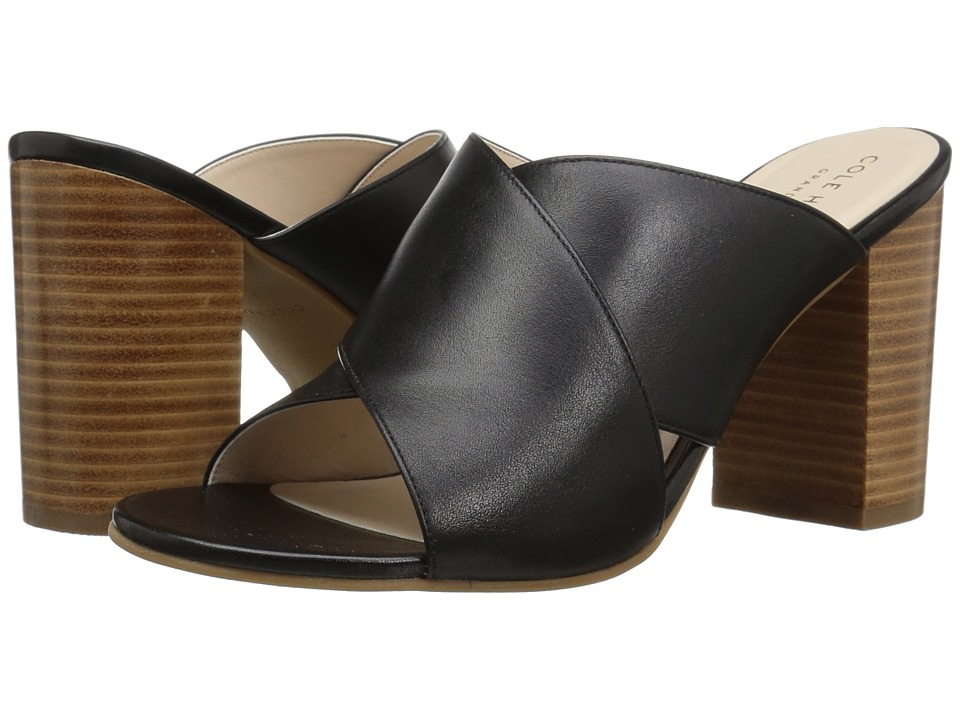 Cole Haan - Gabby Sandal (Black Leather) Women's Sandals