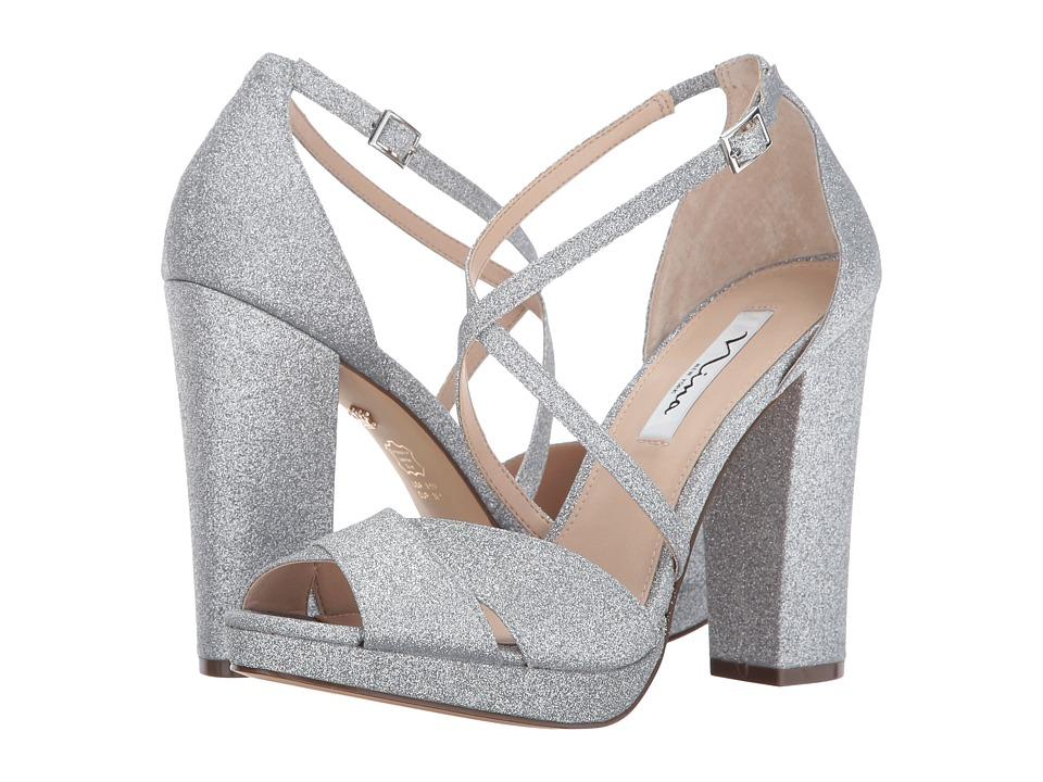 Nina - Marylyn (Silver) High Heels
