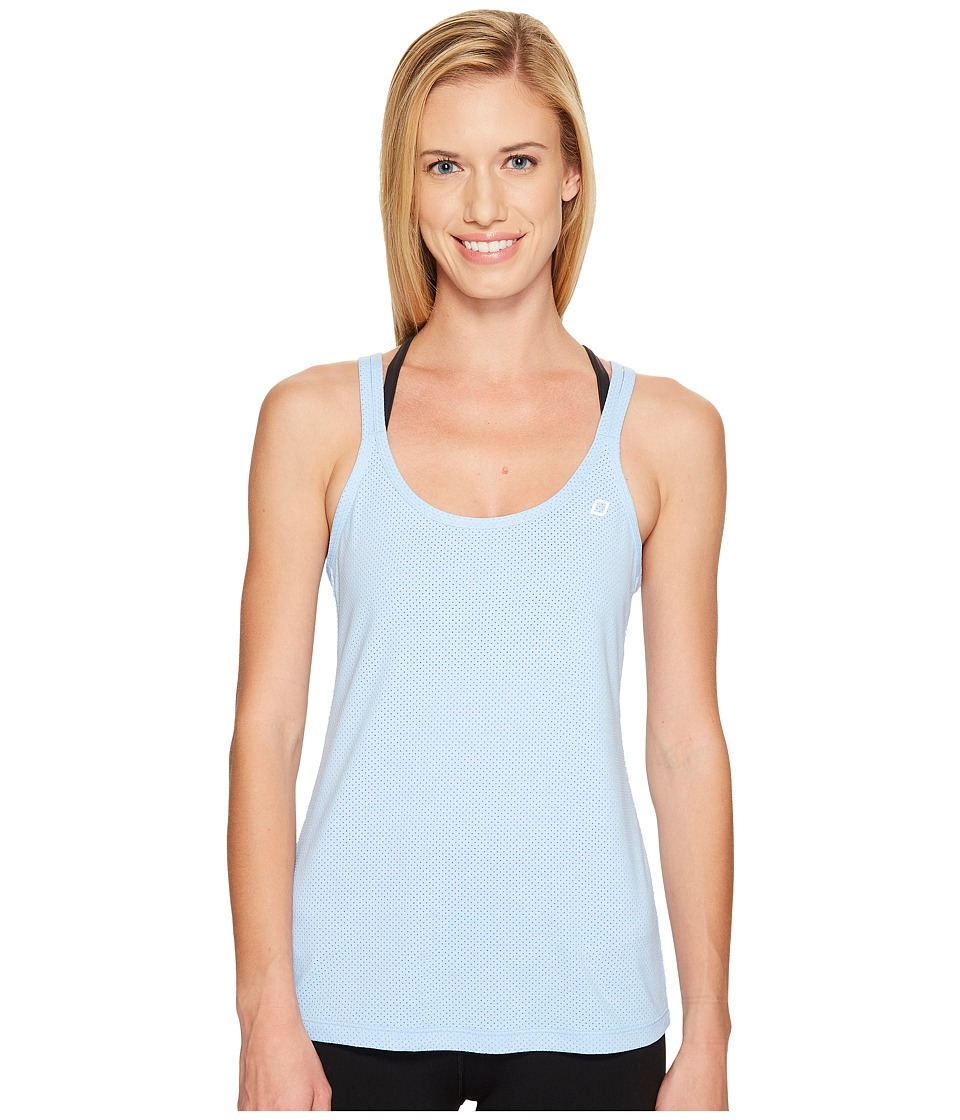 Lorna Jane - Haven Excel Tank Top (Ice Blue Marl) Women's Sleeveless
