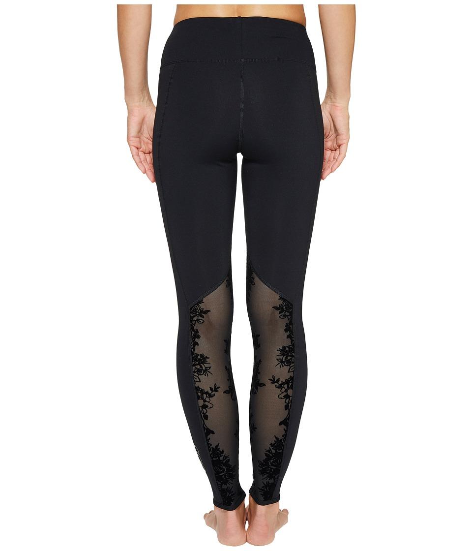 Lorna Jane - Defined Core F/L Tights (Black) Women's Casual Pants