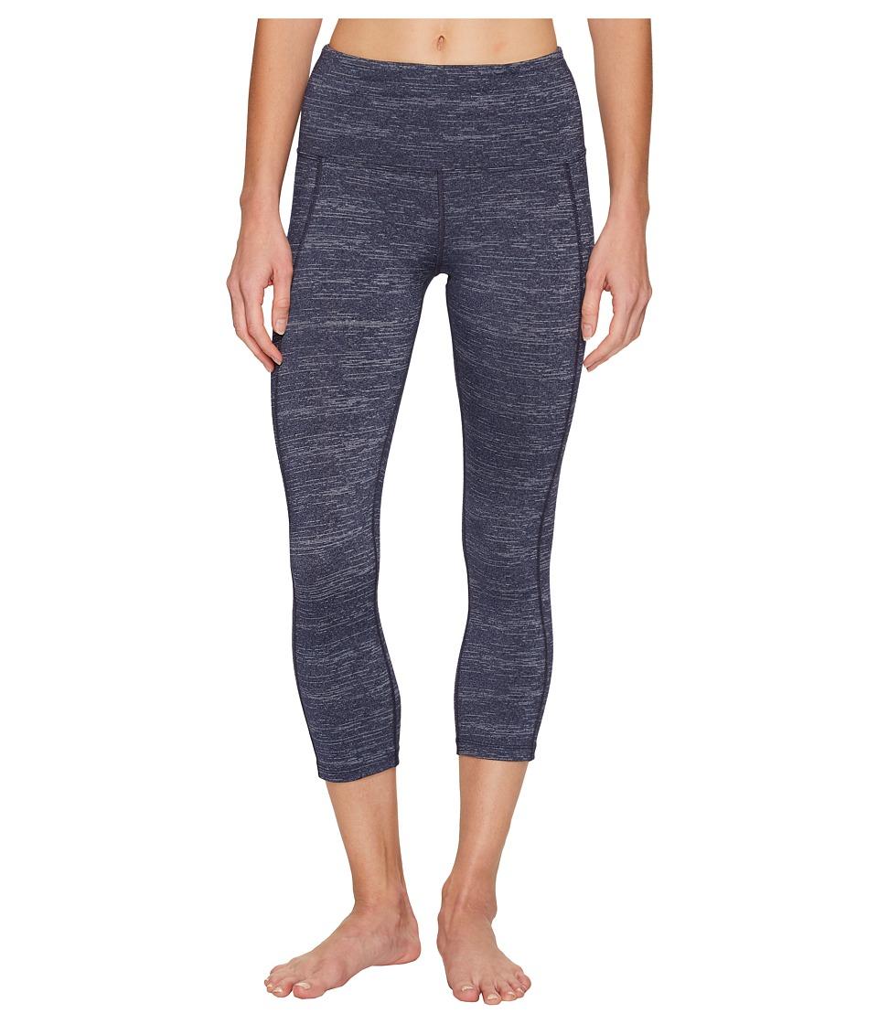 Lorna Jane - Surrender Ultimate 7/8 Tights (Ink Marl) Women's Casual Pants