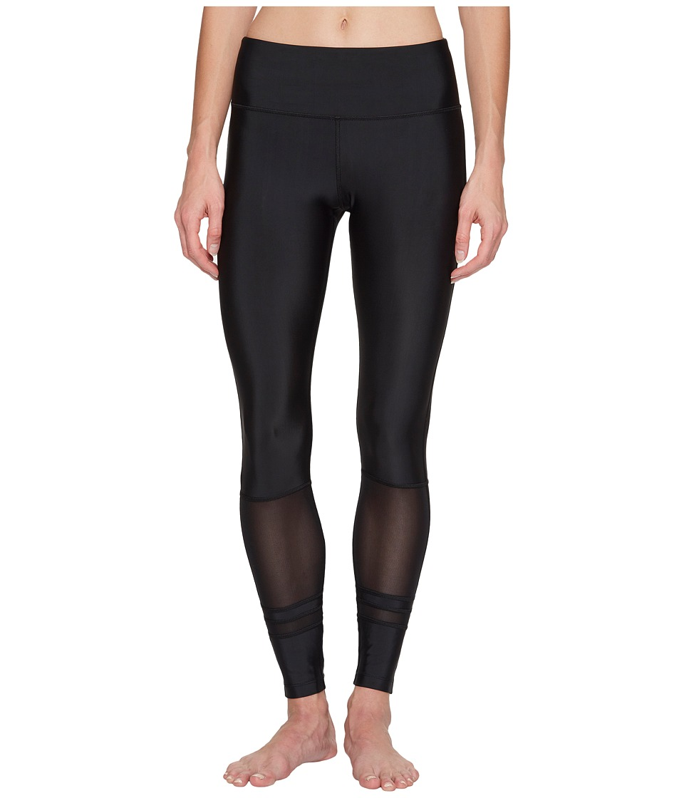 Lorna Jane - Jive Core F/L Tights (Black) Women's Casual Pants