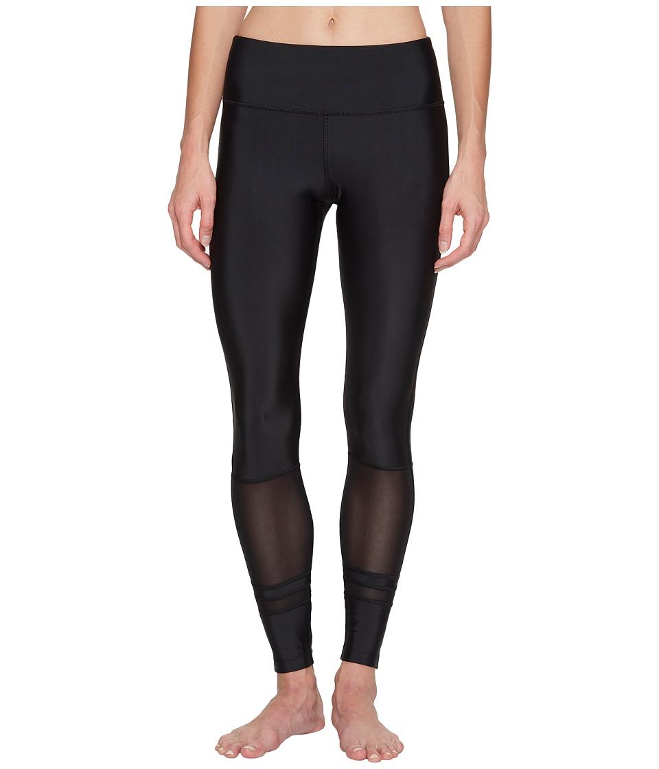 Lorna Jane - Jive Core F/L Tights (Black) Women's Casual Pants