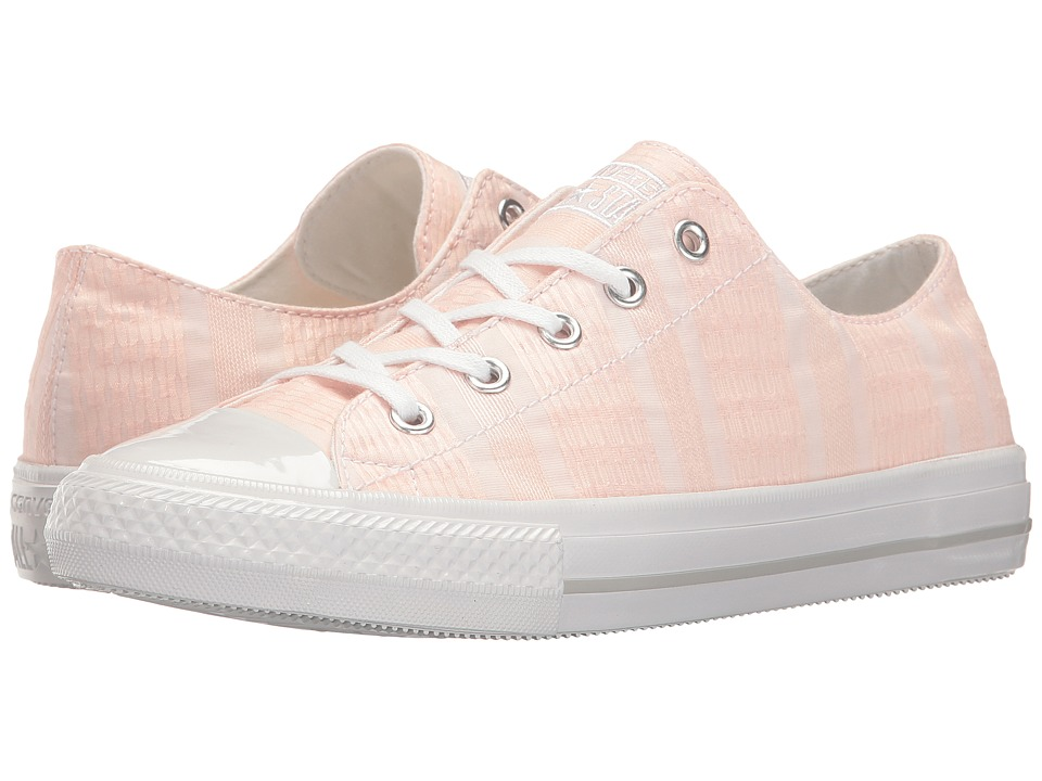 Converse - Ctas Gemma Ox (Vapor Pink/White/Mouse) Women's Lace up casual Shoes