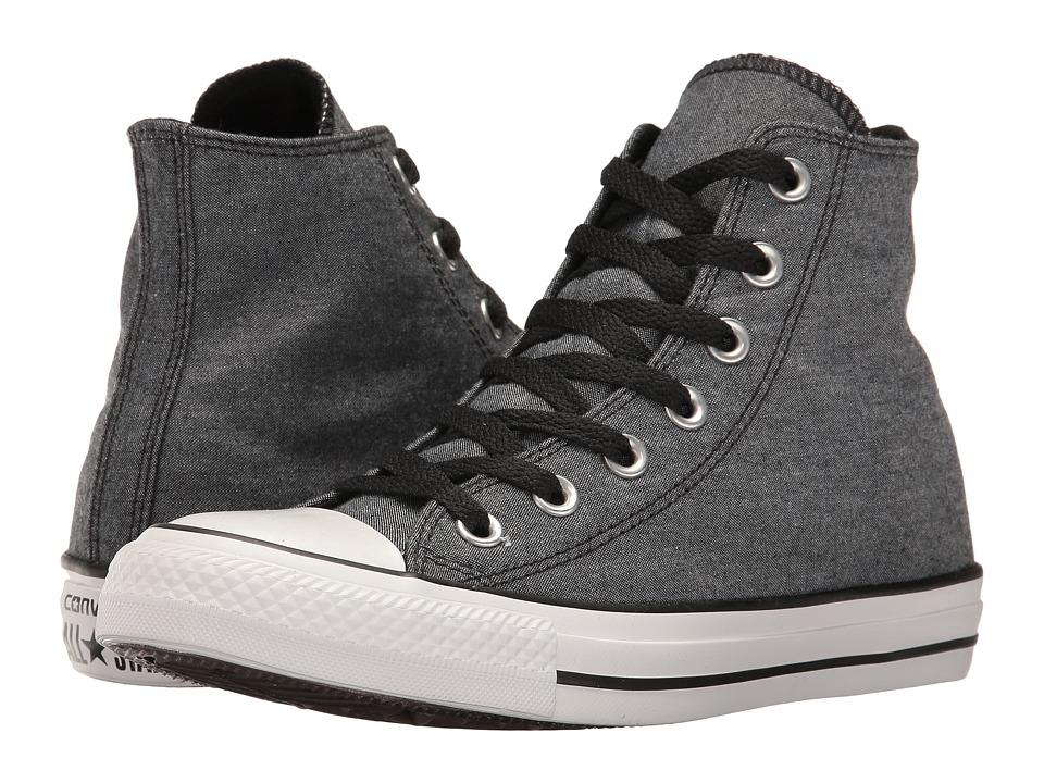 Converse - CTAS Hi (Black/White/Black) Lace up casual Shoes
