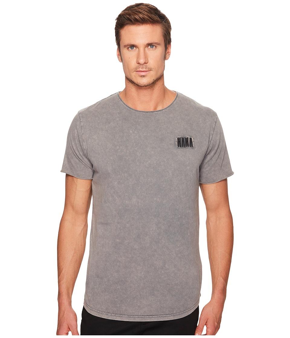 nANA jUDY - Bad To The Bone T-Shirt (Acid Grey) Men's T Shirt