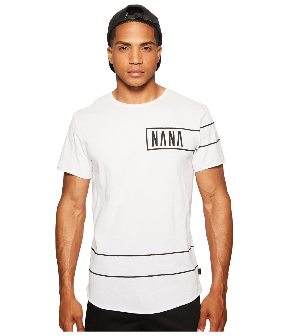 nANA jUDY - The Joker Tee (White) Men's T Shirt