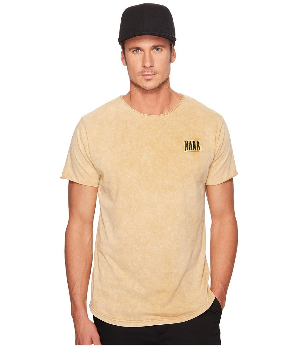 nANA jUDY - Bad To The Bone T-Shirt (Acid Sand) Men's T Shirt