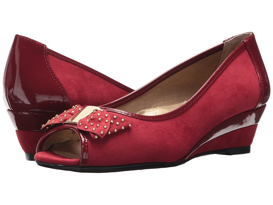 J. Renee Azahar (Deep Red) High Heels