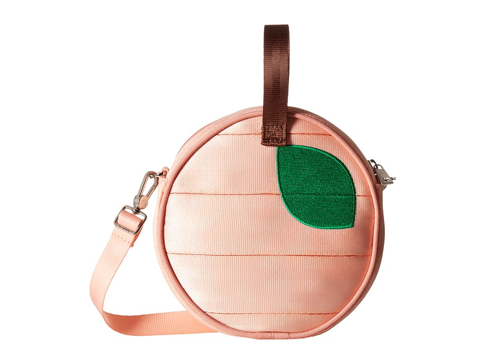 Harveys Seatbelt Bag - Mini Circle Bag (Peach) Handbags
