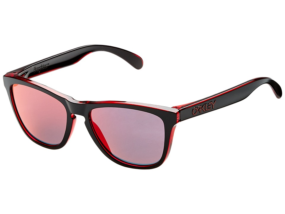 Oakley - Frogskins (Eclipse Red w/ Torch Iridium) Sport Sunglasses