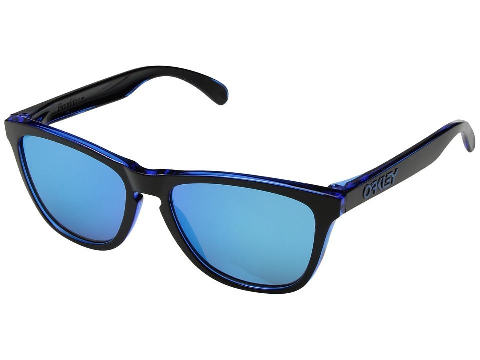 Oakley - Frogskins (Eclipse Blue w/ Sapphire Iridium) Sport Sunglasses