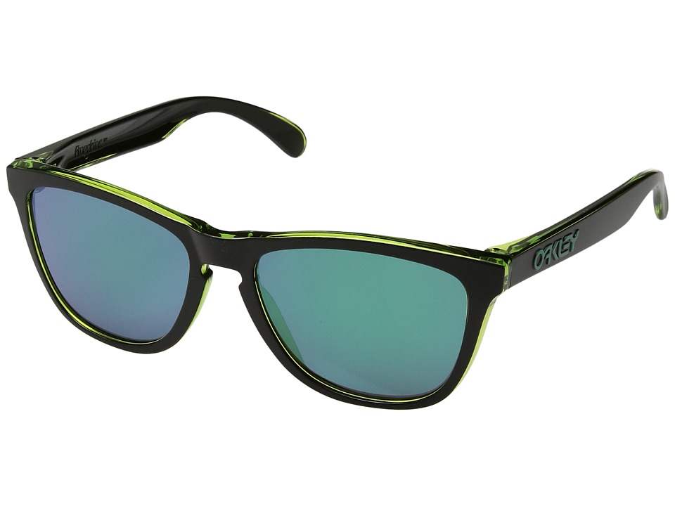 Oakley - Frogskins (Eclipse Green w/ Jade Iridium) Sport Sunglasses