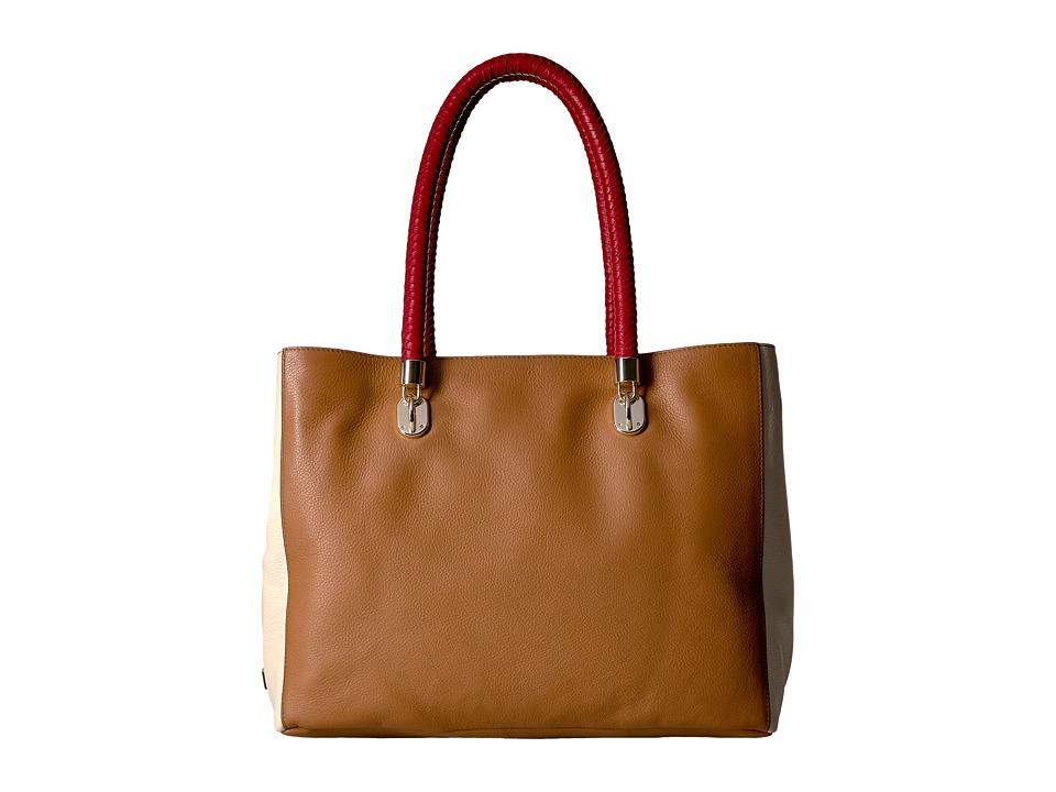 Cole Haan - Benson Tote (Sandshell Multi) Tote Handbags