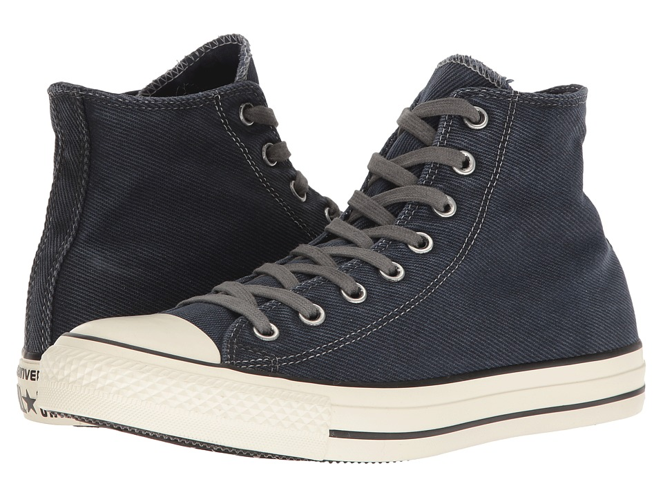 Converse - Chuck Taylor All-Star Hi (Navy/Black/Egret) Classic Shoes