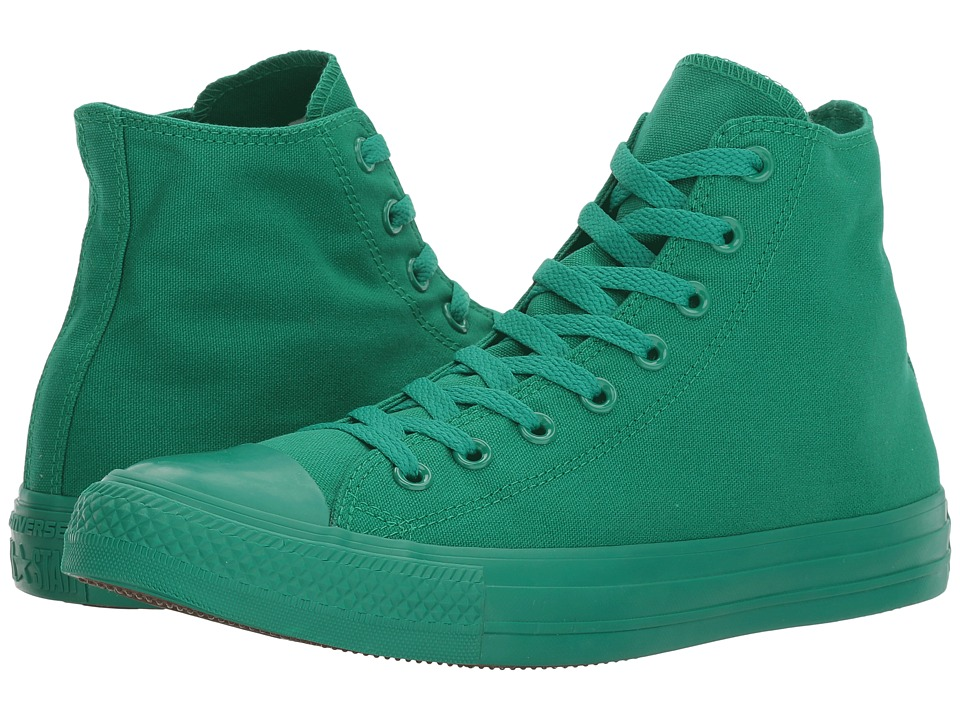 Converse - Chuck Taylor(r) All-Star(r) Hi (Bosphorous Green/Green/Green) Classic Shoes