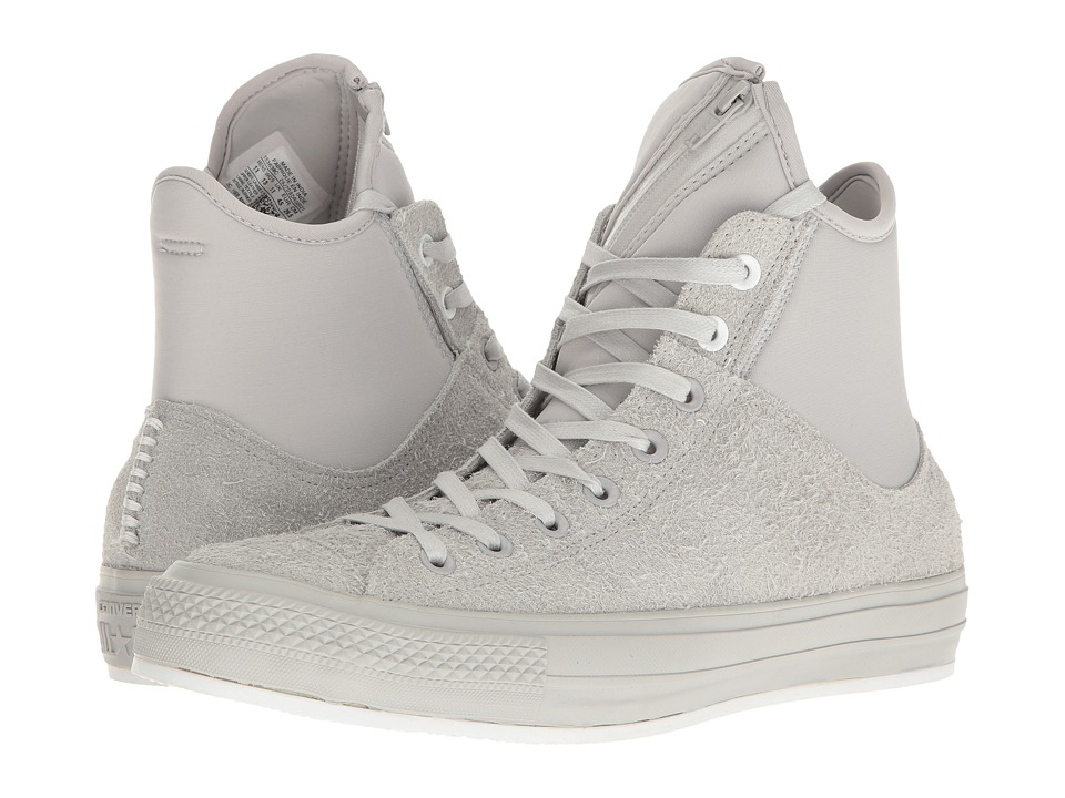 Converse - Chuck Taylor(r) All-Star(r) MA-1 SE Hi (Ash Grey/Ash Grey/White) Classic Shoes