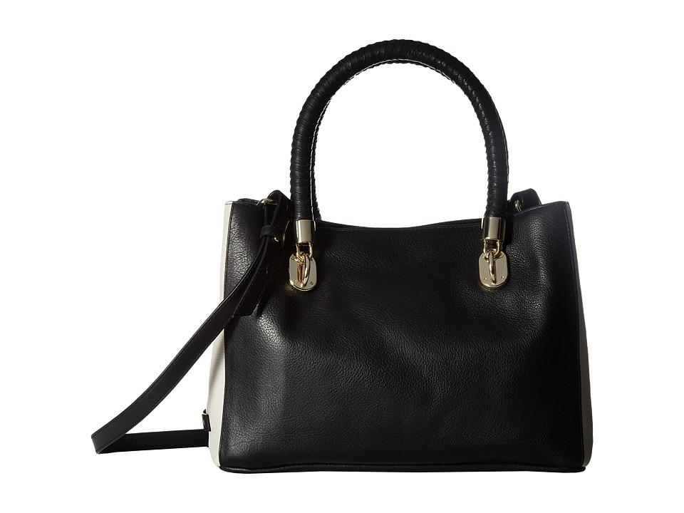 Cole Haan - Benson Small Tote (Black/Ivory) Tote Handbags