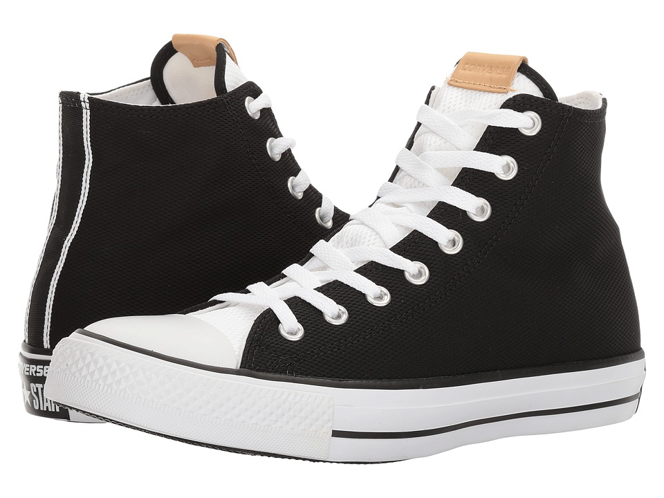 Converse - Chuck Taylor All-Star Hi (Black/White/White) Classic Shoes
