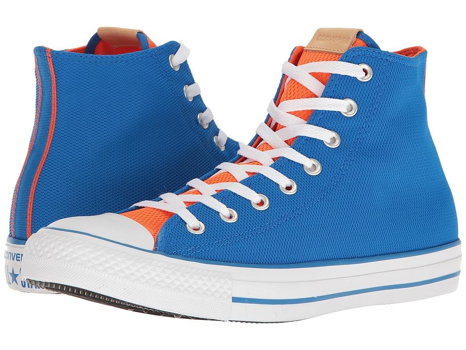 Converse Chuck Taylor(r) All-Star(r) Hi (Soar/Bold Mandarin/White) Classic Shoes