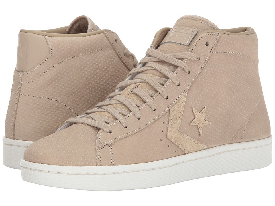 Converse - Pro Leather 76 Mid (Vintage Khaki/Vintage Khaki) Classic Shoes