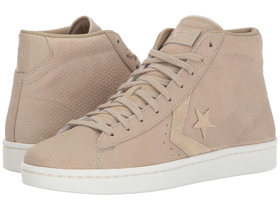 Converse - Pro Leather 76 Mid (Vintage Khaki/Vintage Khaki) Classic Shoes