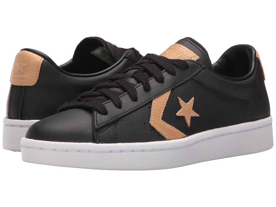 Converse - Pro Leather 76 Ox (Black/Tan/Black) Classic Shoes