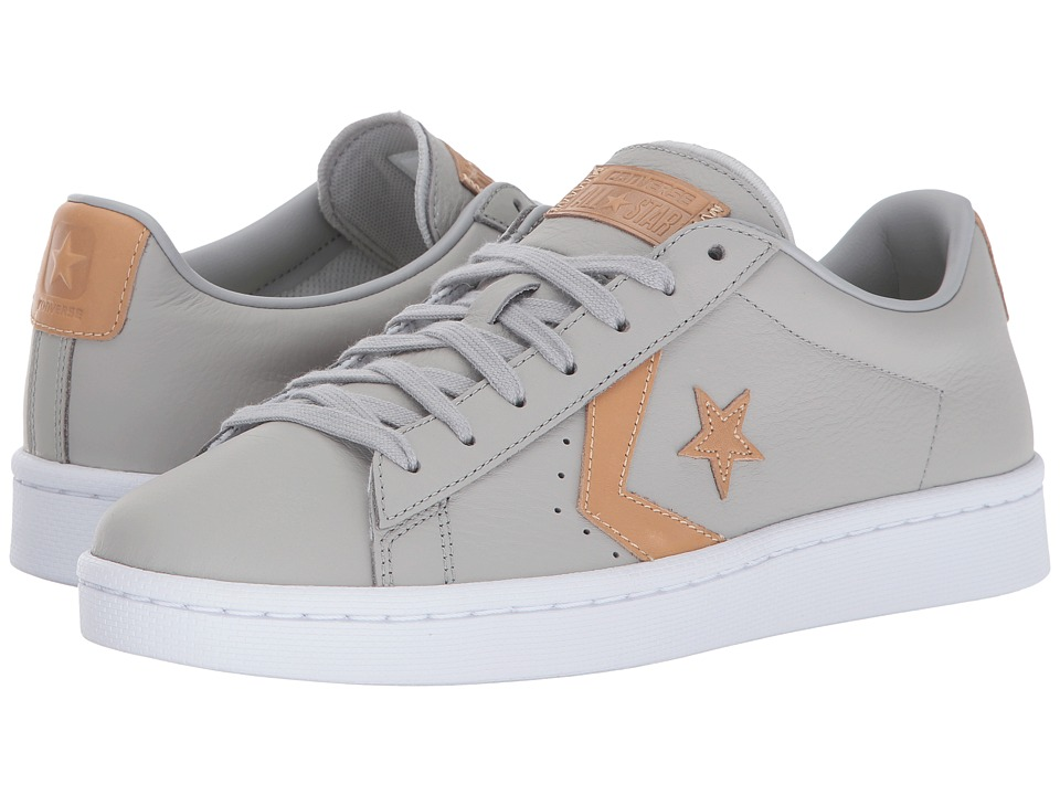 Converse - Pro Leather 76 Ox (Ash Grey/Tan/Ash Grey) Classic Shoes