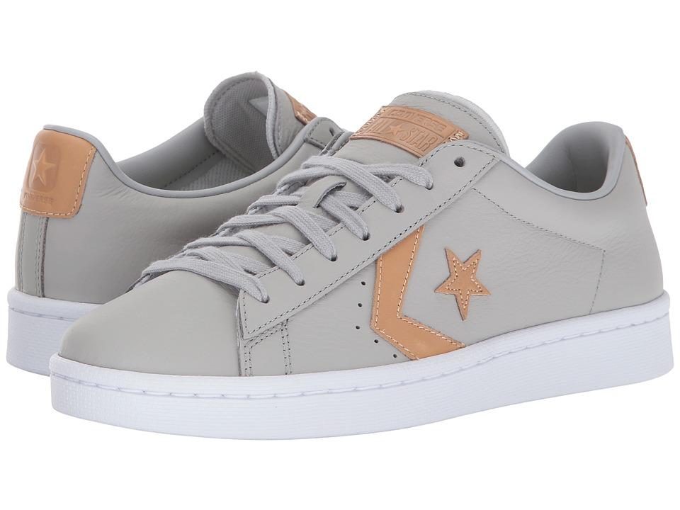 Converse - Pro Leather 76 Ox (Ash Grey/Tan/Ash Grey) Classic Shoes