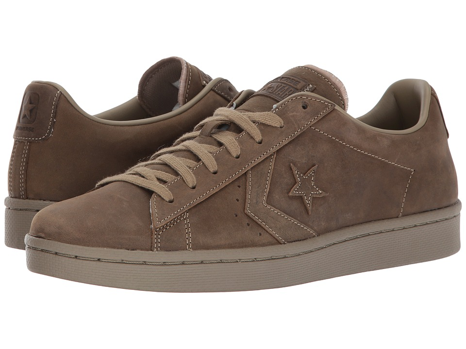 Converse - Pro Leather 76 Ox (Khaki/Khaki/Khaki) Classic Shoes