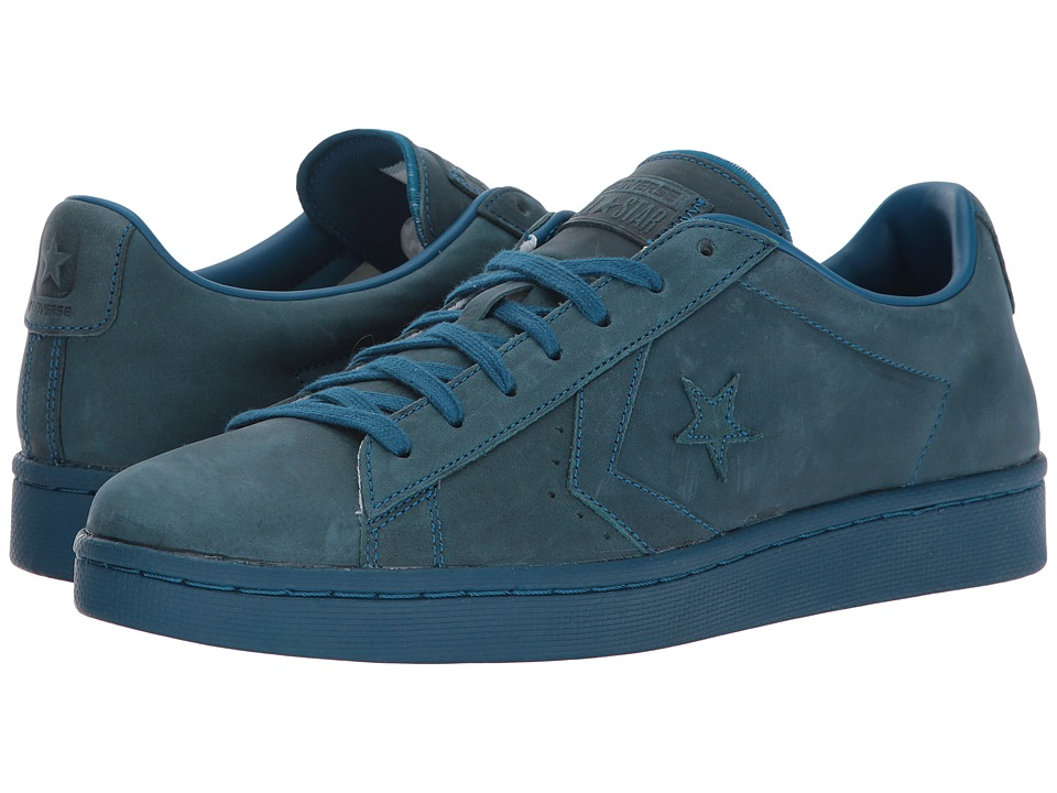 Converse - Pro Leather 76 Ox (Blue Lagoon/Blue Lagoon) Classic Shoes