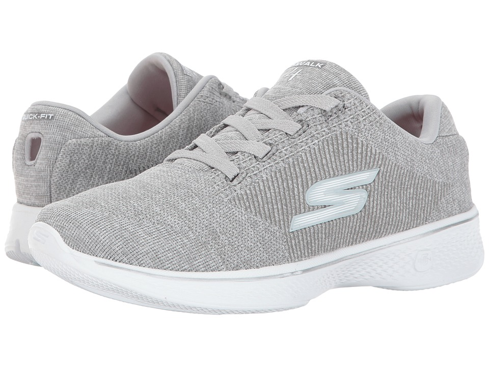 SKECHERS Performance GOwalk 4 Cherish (Gray) Women