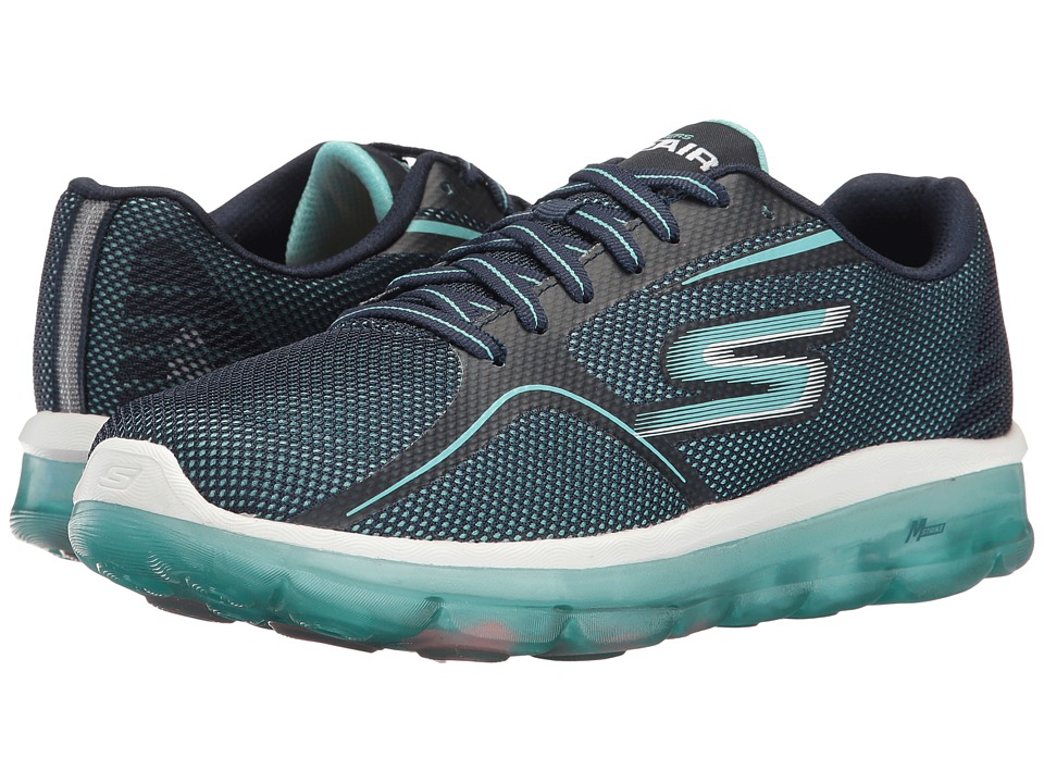 SKECHERS Performance GOair 2 (Navy/Light Blue) Women
