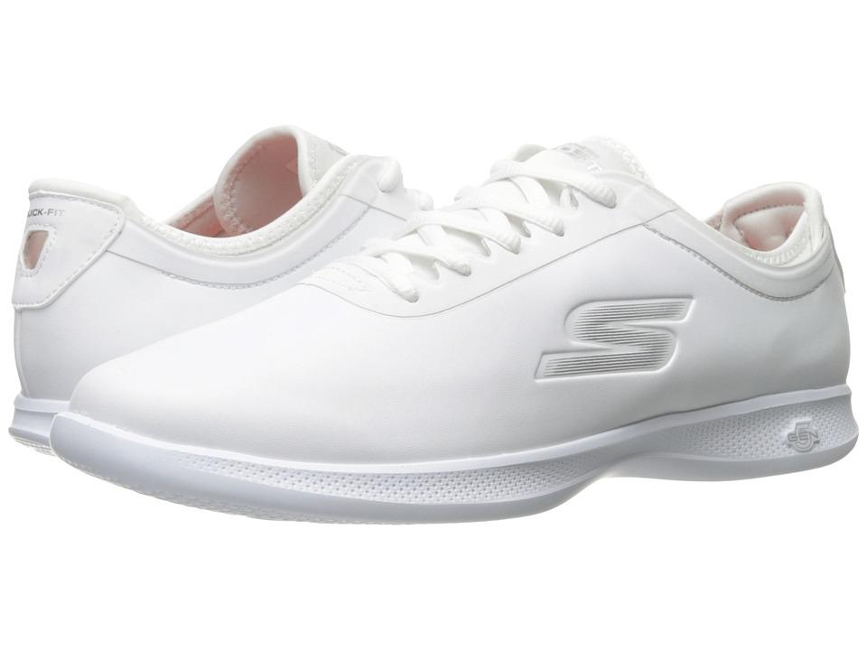 SKECHERS Performance - GO STEP Lite - Ovation (White) Women's Shoes
