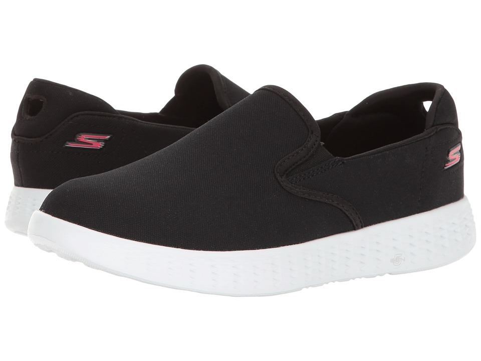 SKECHERS Performance - On The GO Glide (Black/White) Women's Shoes