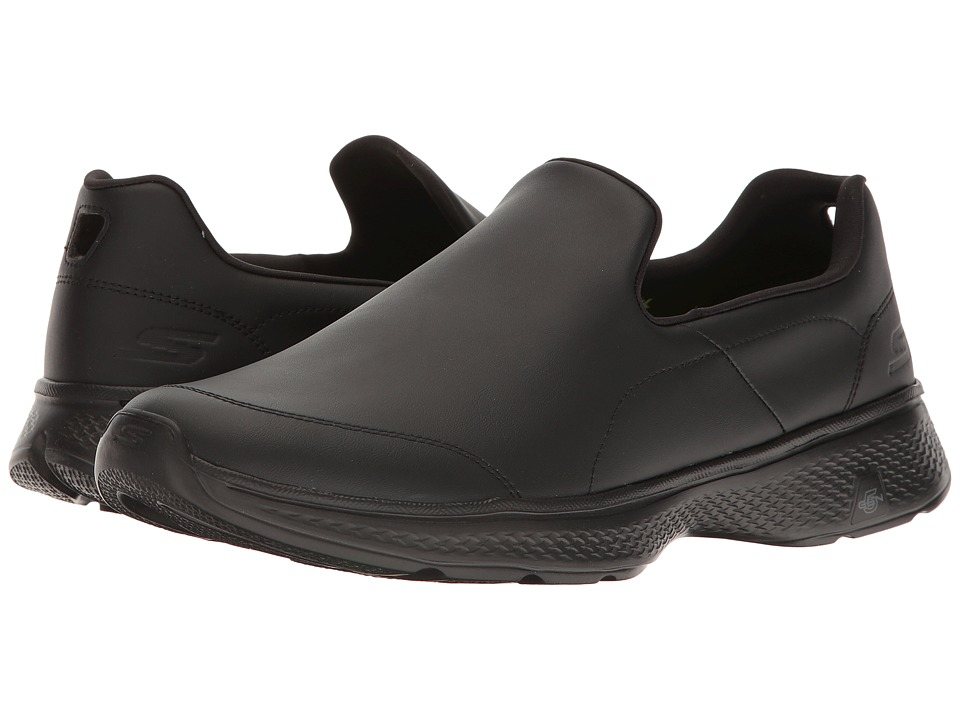 SKECHERS Performance - GOwalk 4 - Navigate (Black) Men's Shoes