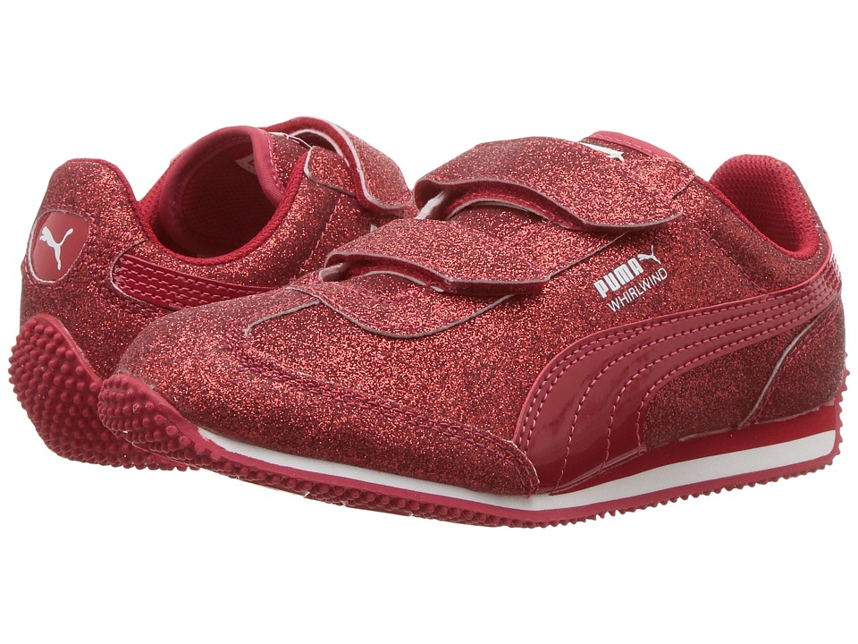 Puma Kids Whirlwind Glitz V (Little Kid/Big Kid) (Toreador/Toreador) Girls Shoes