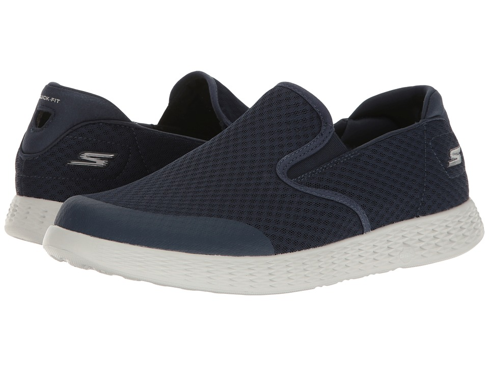 SKECHERS Performance - On The GO Glide - Response (Navy/Gray) Men's Shoes