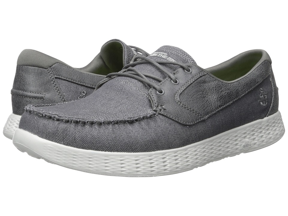 SKECHERS Performance - On The GO Glide - 53770 (Charcoal) Men's Shoes