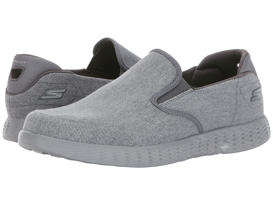 SKECHERS Performance - On The GO Glide - Victorious (Charcoal) Men's Shoes