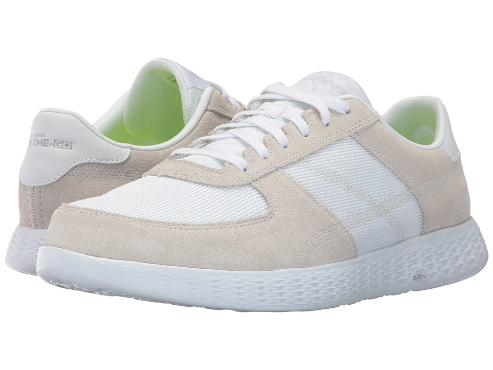 SKECHERS Performance - On The GO Glide - Virtue (White) Men's Shoes