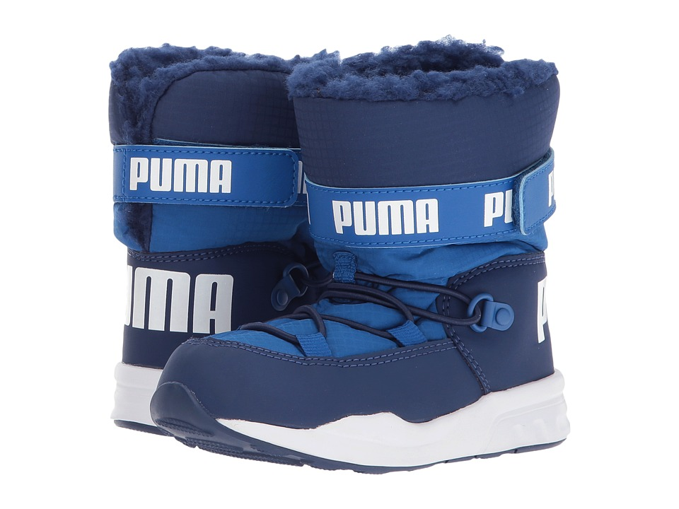 Puma Kids Trinomic Boot (Toddler) (Lapis Blue/Blue Depths) Boys Shoes