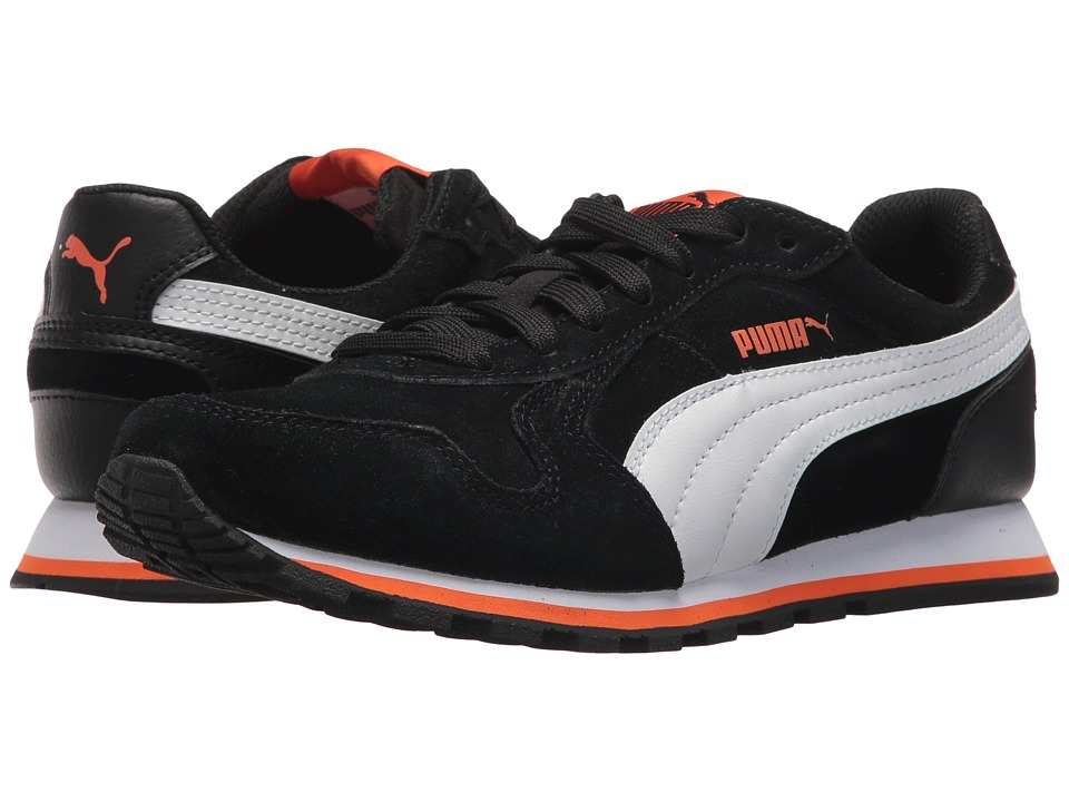 Puma Kids ST Runner SD (Big Kid) (Puma Black/Puma White) Boys Shoes