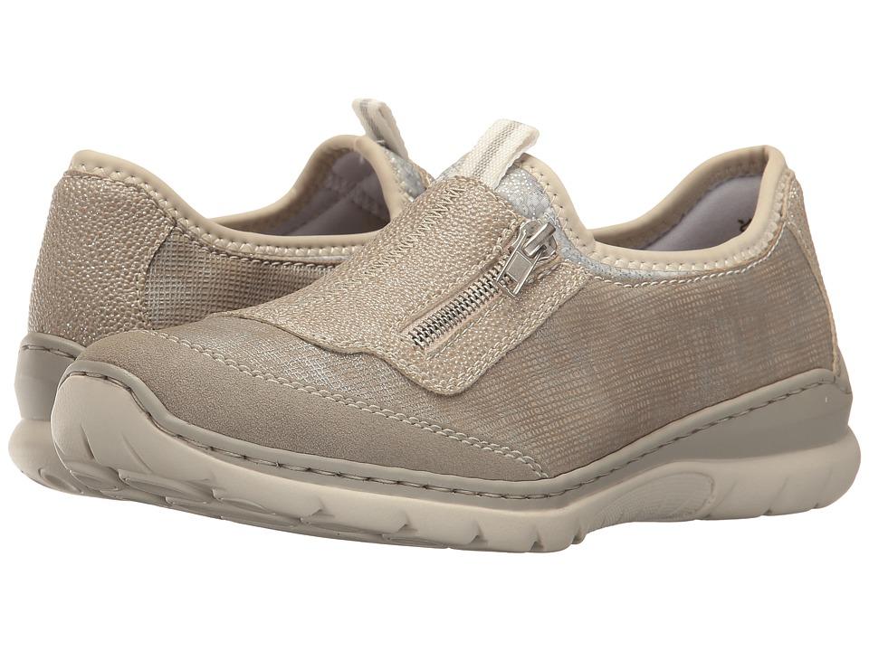 Rieker - L3259 Nikita 59 (Vapor/Fango Silver/Perle Silber) Women's Shoes