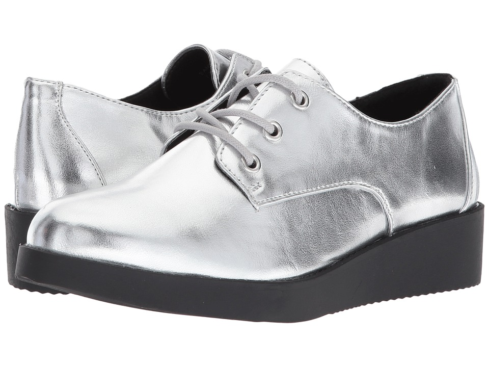 Madden Girl - Bandshe (Silver Metal) Women's Shoes